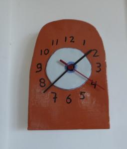 Klok - en op tijdkeramiek